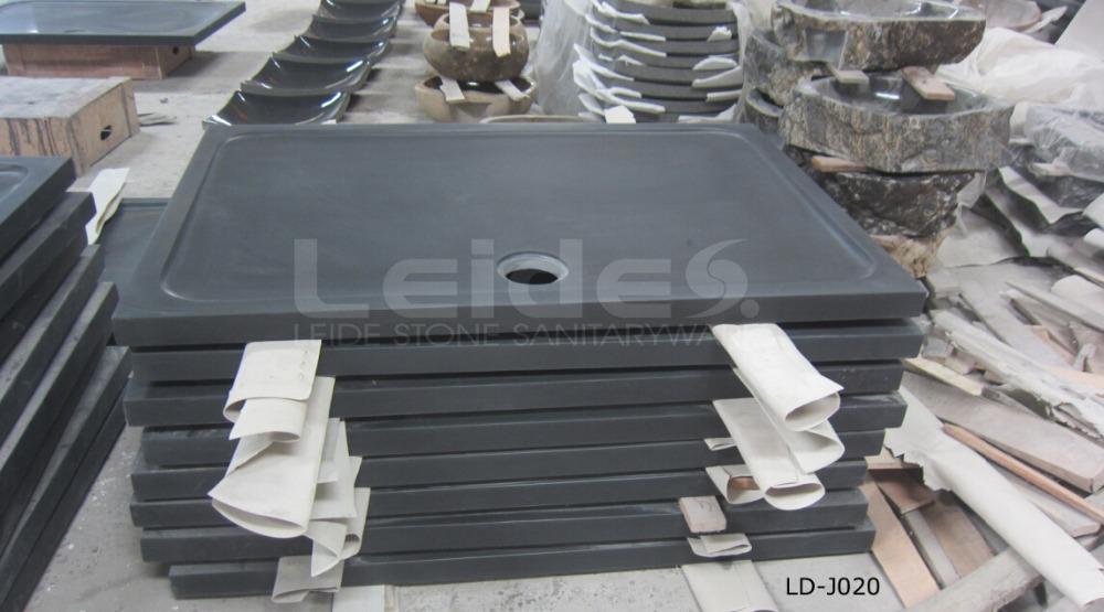 Black granite duschwanne granit dusche pan badezimmer for Granit dusche