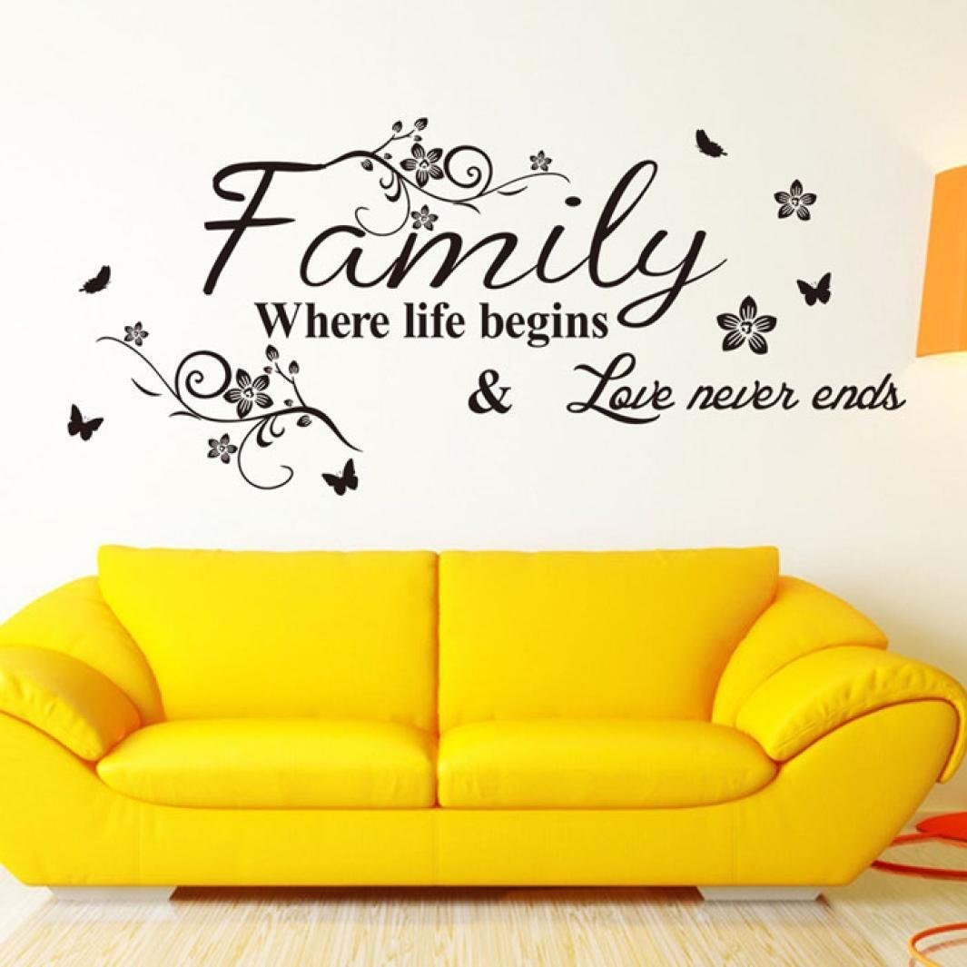 Cheap Wall Sayings For Living Room, find Wall Sayings For Living ...