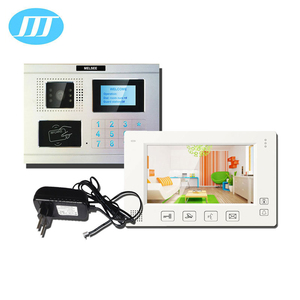 made in China wired video door phone intercom opening system for multi apartments building