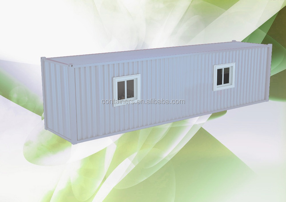 SIte container office with CSC plate