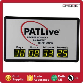 #CT53 Alibaba Digits LED Events Day Custom Preset Countdown Timer