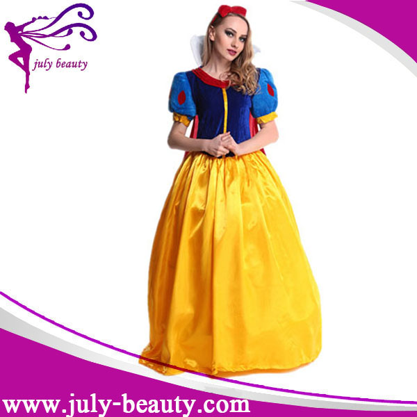 2016 newest snow white cosplay women adult halloween costumes for women Princess Snow White Costume