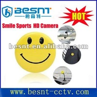 Happy Face wireless hidden camera HD Smile Face Sport Mini DV Hidden Camera BS-771