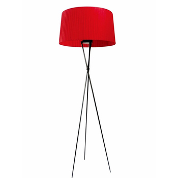 Red Black White Stand Lamp 3 Legs Wood Iron Modern Tripod Floor Light View Dgy Product Details From Zhongshan Geiliang