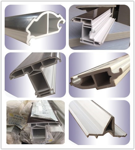window frame profiles exporting plastic upvc/pvc profile production