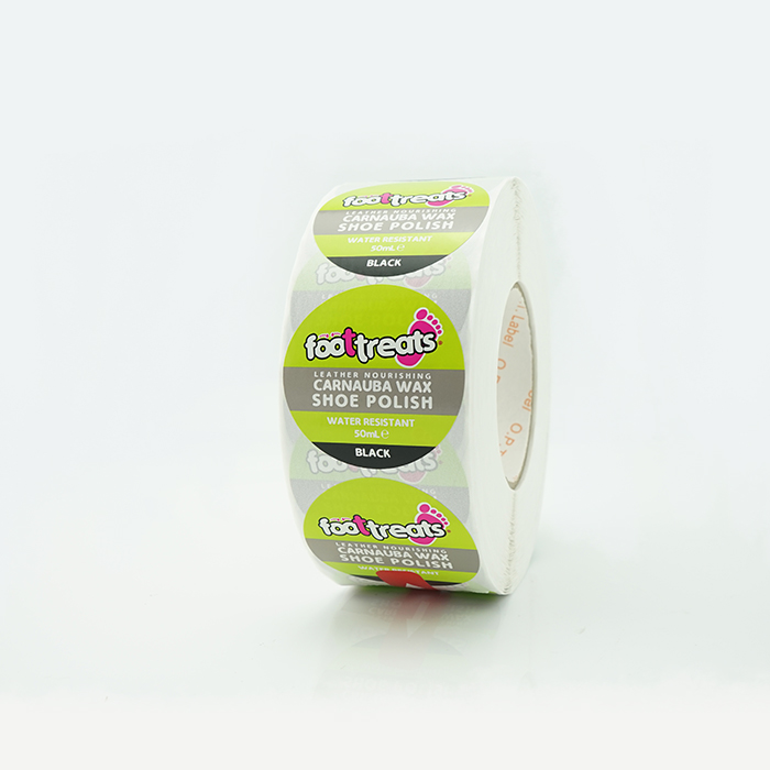 Japan popular custom printing round glossy roll stickers logo paper etiquetas 2 inch round jar labels with logo