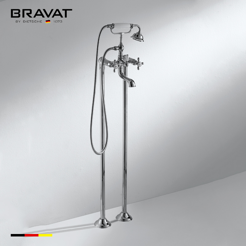 Foor Stand Freestanding Bathtub Faucet Freestanding Traditional Style  F651199CP