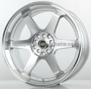 Guangzhou automobile car spare parts 18 inch 5x112 6x139.7 on sales alloy wheels rims concave replica VOLK RACING TE37