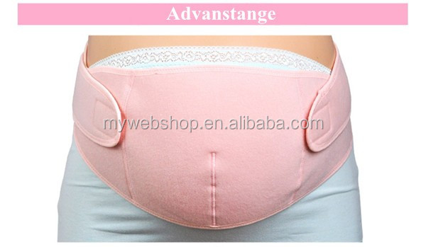 100% Cotton Full Cover Pregnancy Abdominal Support Women Maternity Belts Protect Baby and Pelvis Belts