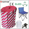 portable inflatable sauna BS-9002,Saudi Arabia popular portable ozone steam sauna,portable sauna steam hidden cam massage room