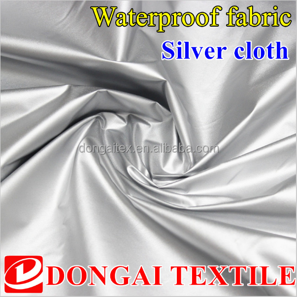 polyester ultraviolet-proof coating car cover <strong>fabric</strong>