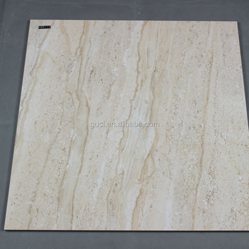 Foshan GUCI cheap factory price glossy polished synthetic marble tiles
