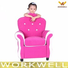 WorkWell royal style leather children recliner sofa kids sofa Cs-11