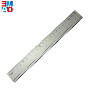 Office top quality aluminium metal custom ruler 20cm