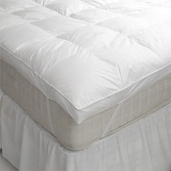 hotel feather mattress topper