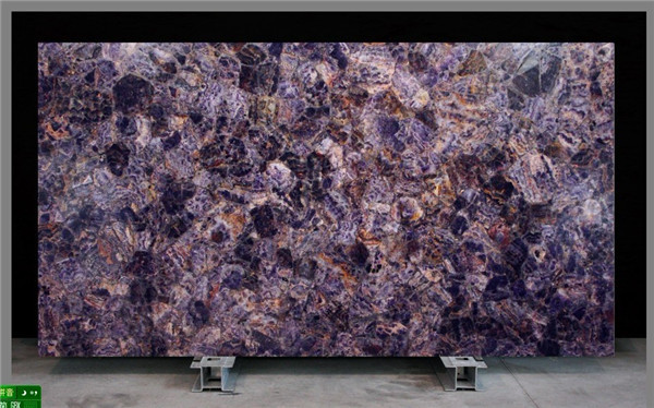 Purple Onyx Slabs : Quartz floor tiles price buy