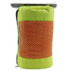 microfiber terry car cleaning towel with mesh bag