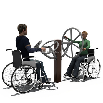China manufactured handicapped equipment outdoor fitness gym