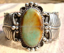 Texas people lovely style Turquoise cuff Bracelet bangle