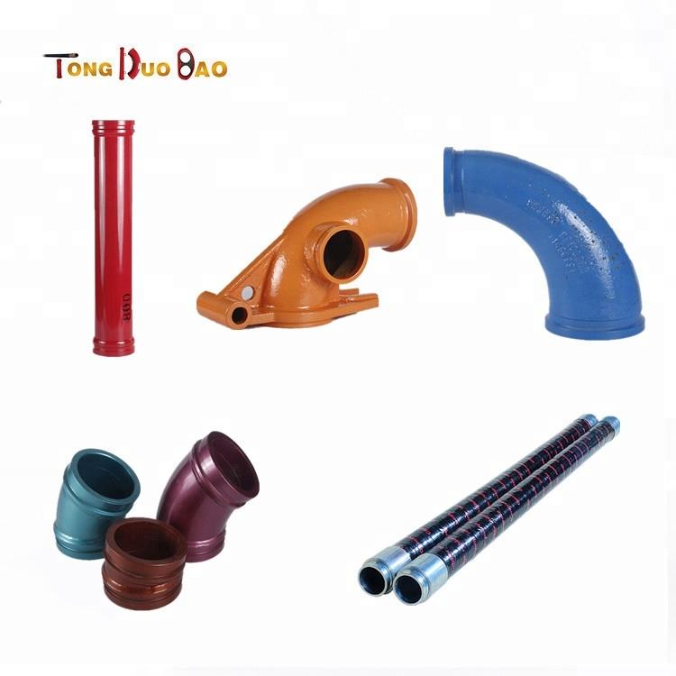 concrete pump rubber hose pump pipe clamp coupling