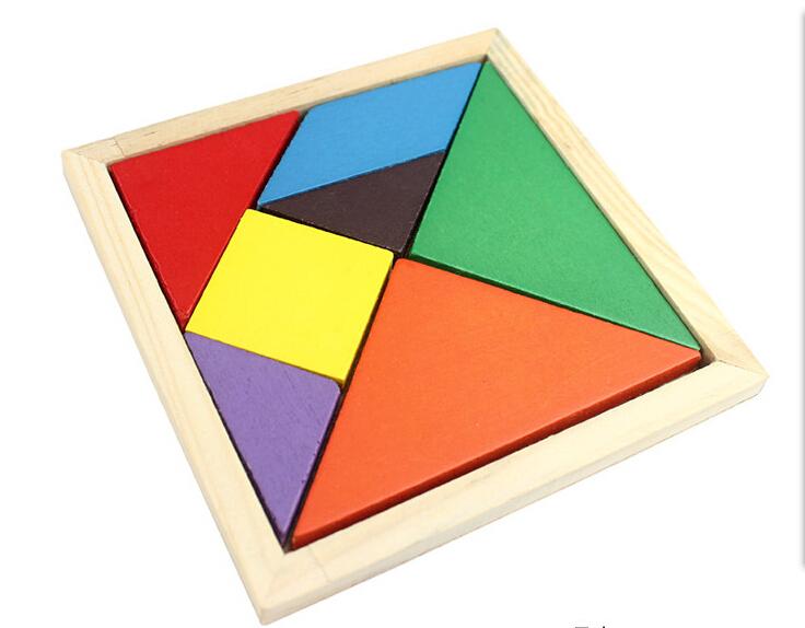 Tangram De Madera Puzzle Juego Para Ninos Juguetes Educativos Buy