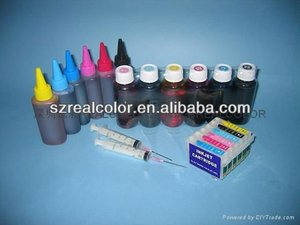 High quality dye/pigment ink for HP/Epson/Canon inkjet printer