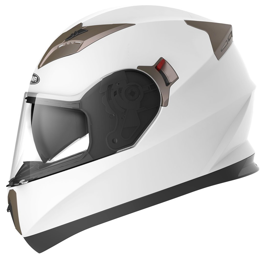 d4fabe2c Get Quotations · Motorcycle Full Face Helmet DOT Approved - YEMA YM-829 Motorbike  Moped Street Bike Racing