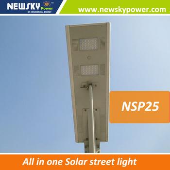 35w 12w Outdoor Lighting All In One Motion Sensor Led Solar Street ...