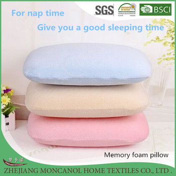 top wholesaler primark panda bamboo nap gel memory foam pillows shredded travel cushion