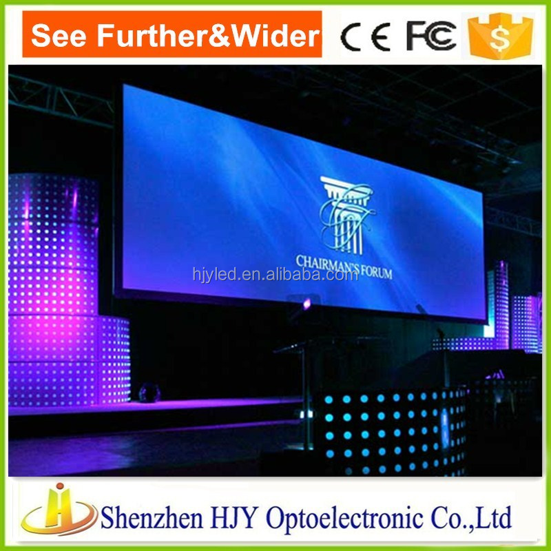new technology commercial screen P2.5 indoor full color led display led video wall on sale