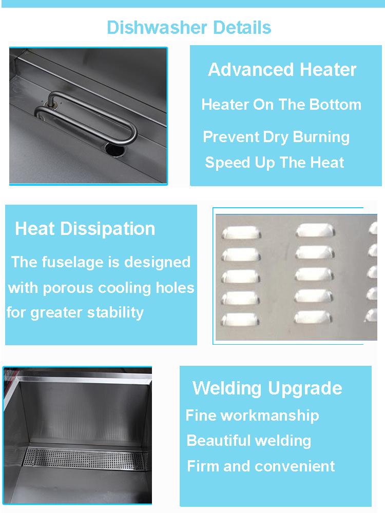 SUS 304 CD-100 dish dishwasher dish washer dish wash machine industrial