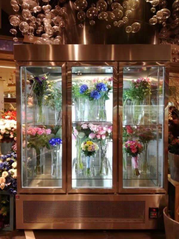 Refrigerated Produce Display Flower Display Cooler Buy