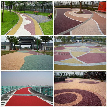 Resin Bound Permeable Paving For Pedestrian And Vehicle