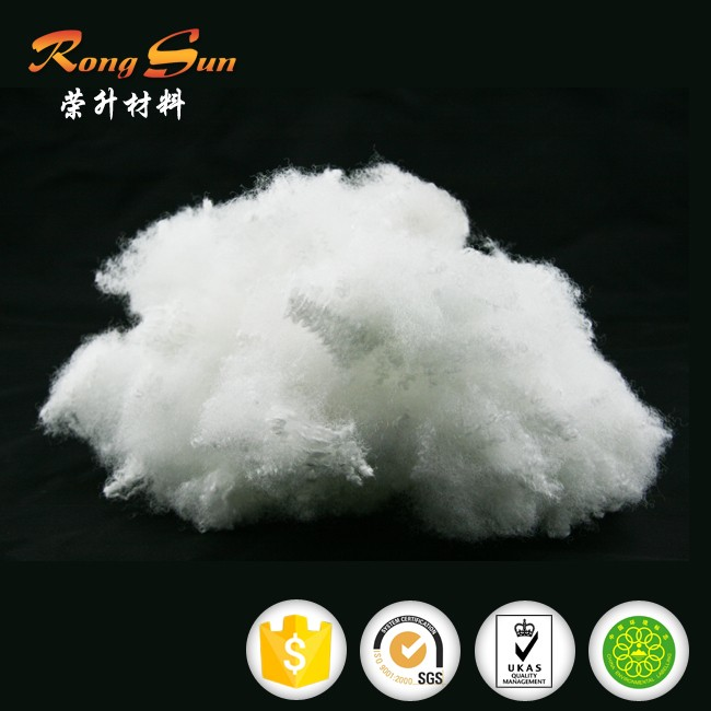 Virgin/recycled Polyester Staple Fiber for pillow&toy&sofa/polyester fiber for filling material
