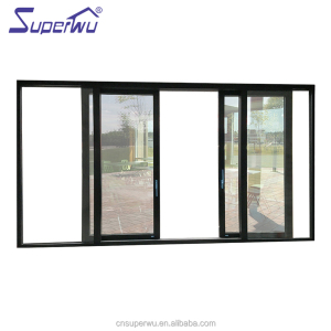 China factory manufacture aluminum interior 3 panel sliding barn doors