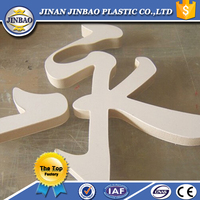 thick anti-UV waterproof pvc extrud board for road sign panel