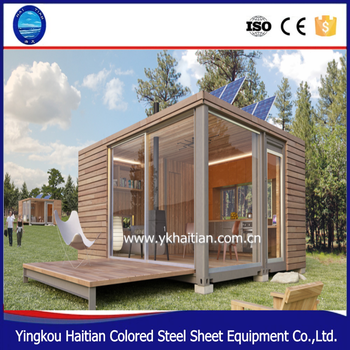 Shipping container hotel room wooden houses bulgaria pre fab house villa wood log