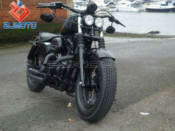 zjmoto motorcycle twin round chrome dominator motorcycle 4