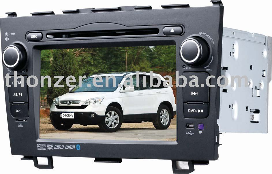 7 inch Special GPS DVD digital LCD (800*480pixels) for CR-V (2006--2009)
