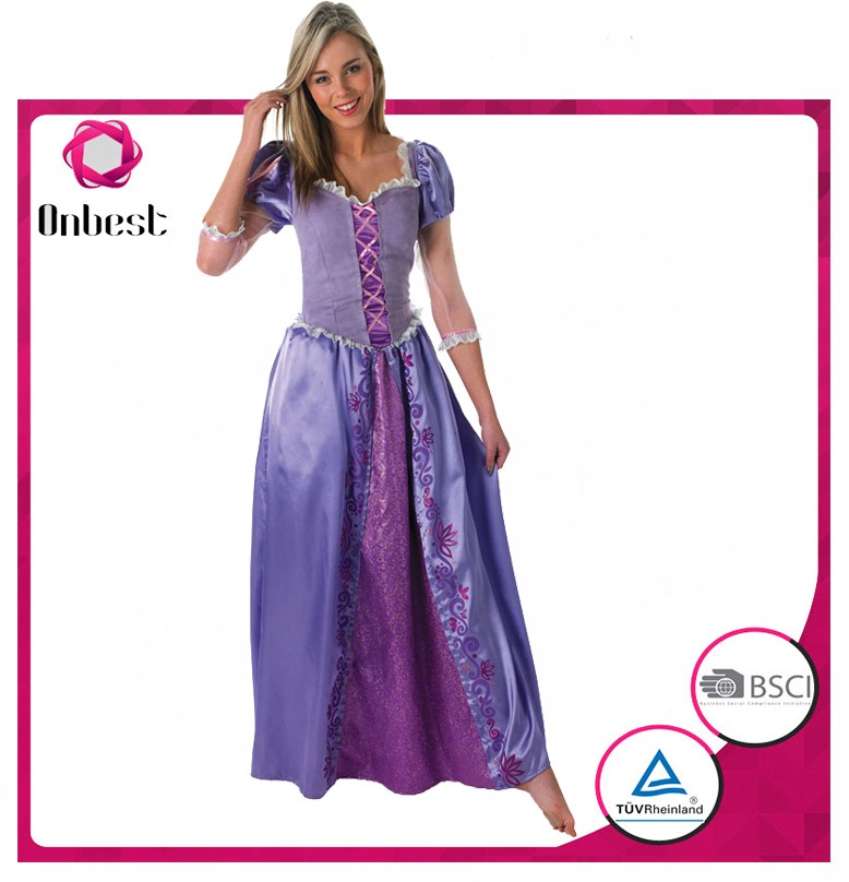 Lovely Carnival Dress Princess Dress Purple Princess Ball Gown Costume For Adults Buy Onbest Masquerade Carnival Costume Accessory Plastic Horror Product On Alibaba Com