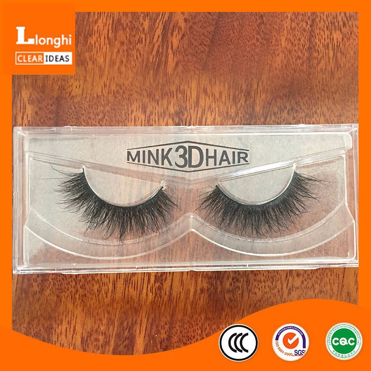 High quality A05 Provide custom label 3D mink eyelashes