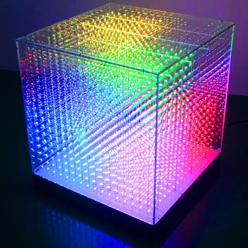 Seekway Dmx 3d Color Led Cube For Indoor Laying