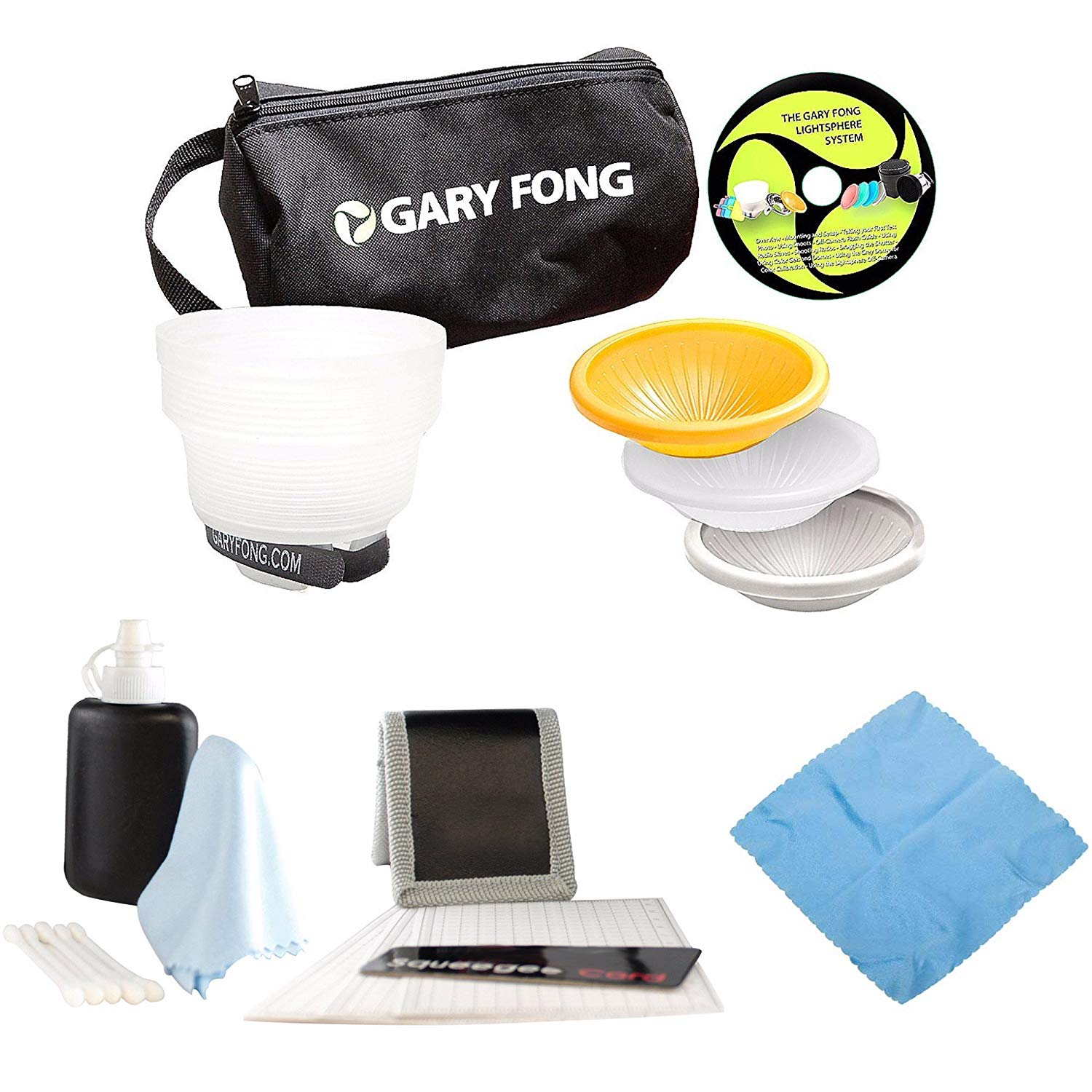 Red//Green//Blue//Gray Gary Fong DOM2 Dome Kit for Camera