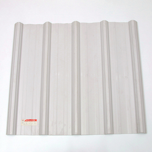 trade assurance Hot sale Building Materials UPVC / PVC Trapezoidal roof tiles