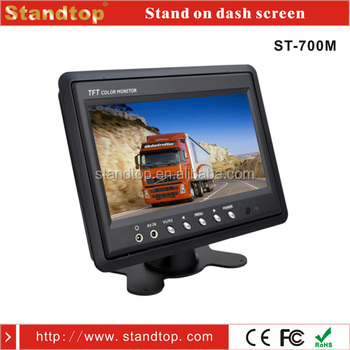 China Wholesale 7 Inch Flexible Lcd Screens For Car Seats Dc12v