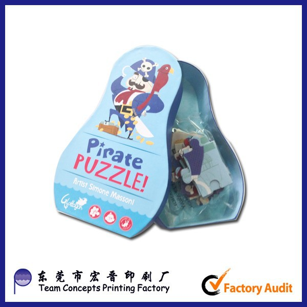 pirate paper puzzle games for children china manufacture