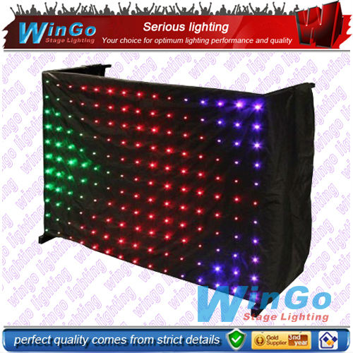 Tri-color LED vision cloth curtain stage background lighting