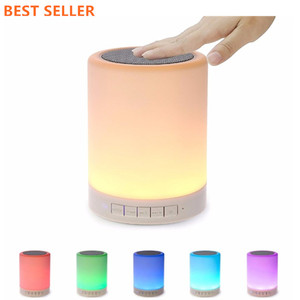 Amazon Top Seller 2018 Led Light Lamp Bluetooth Speaker Mini Car Wireless Speaker Trolleyhome Theater System Subwoofer Powered