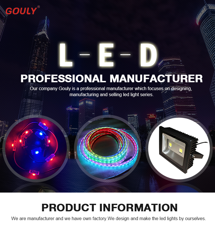 outdoor led module track