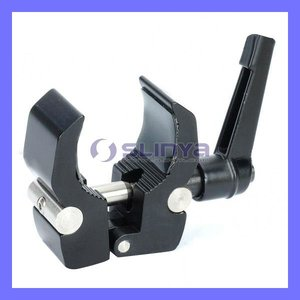 Aluminum Alloy Mount Clamp for Camera Camcorder